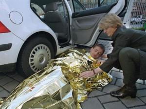 Psychisch Erste Hilfe am Unfallort