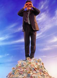 Auf dem Gipfel des Wohlstandes …