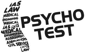 Psychotest zur Auswahl
