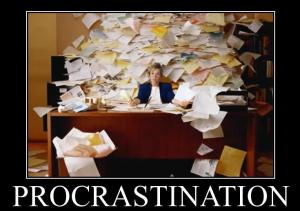 Technik zur Überwindung von Aufschieben (Procrastination)