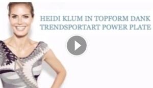 Hedi Klum Powerplate