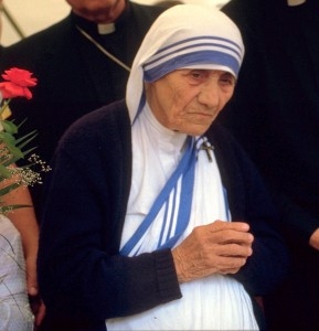 MotherTeresa_986 Túrelio (via Wikimedia-Commons), 1986
