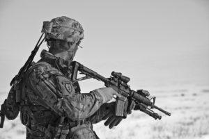 Wie Elitesoldaten immer Ruhe bewahren