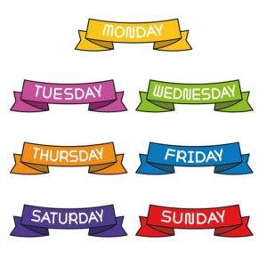 Bedeutung der Wochentage (Astrologie)