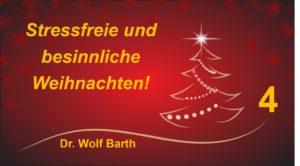 Weihnachten: Besinnliche Zeit – Zeit der Besinnung