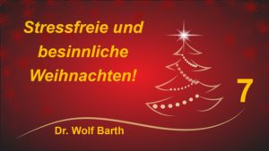 Weihnachten und Gesundheit