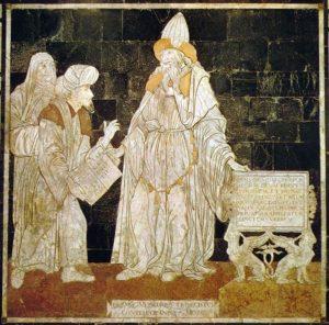 Tabula SmaragdinaHermetis (Hermes Trismegistos)